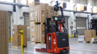 L-MATIC forklift truck from Linde