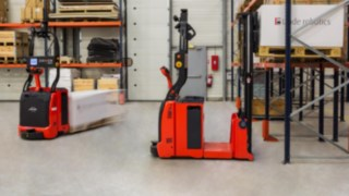 Forklift truck from Linde's MATIC series
