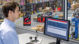 connect: fleet management from Linde