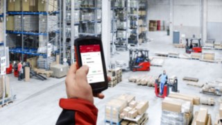Truck Call app from Linde
